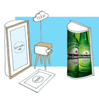 Fotospiegel photobooth mirror
