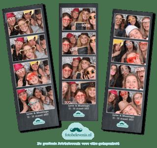 Trouwen inspiratie fotohokje of fotobooth huren voor je bruiloft
