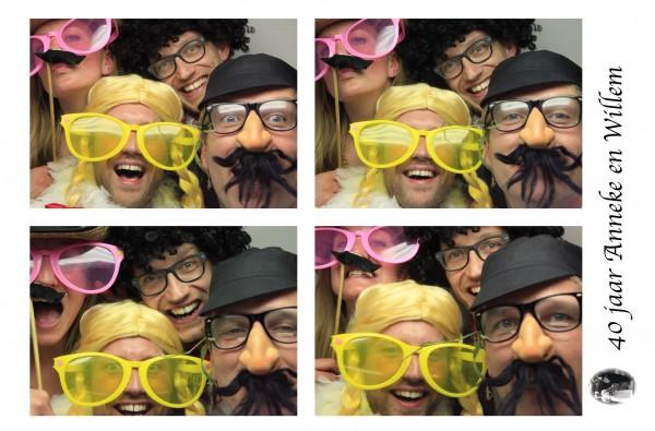 photobooth huren 40 jarig jubileum