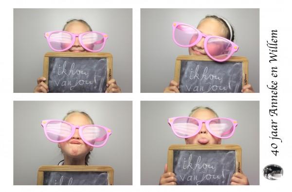 Fotobooth huren 40 jarig jubileum