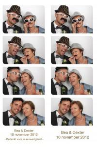 Fotohokje huren bruiloft in Monster | reddingsbrigade