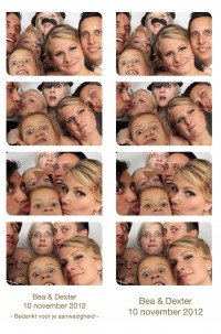 photobooth huren bruiloft in Monster | reddingsbrigade