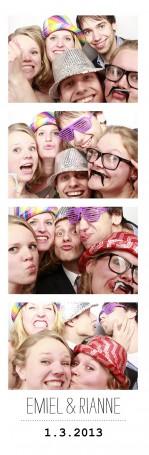 Photo booth huren bruiloft Westerliefde Amsterdam