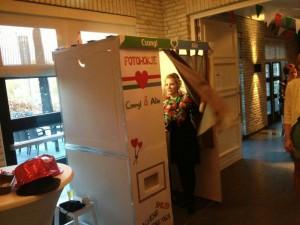 Fotobooth huren in Urk Koningshof