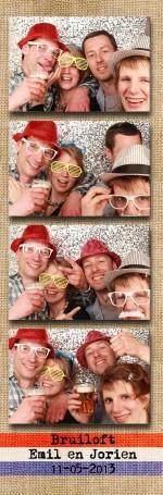 Fotobooth huren bruiloft de Boereplaats in Waarland