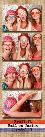 photobooth huren bruiloft de Boereplaats in Waarland