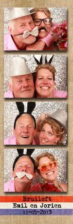 Foto booth huren bruiloft de Boereplaats in Waarland