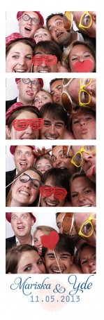 Photobooth huren in de Hospitality Club in Rotterdam