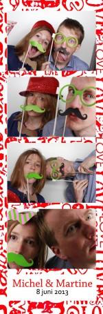 foto booth huren bruiloft Engelbertha Hoeve in Leiden