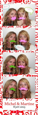 Photobooth huren bruiloft Engelbertha Hoeve in Leiden