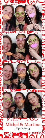 Photo booth huren bruiloft Engelbertha Hoeve in Leiden
