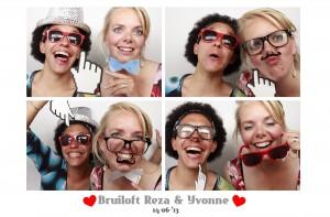 fotobooth huren bruiloft Studio Desmet in Amsterdam