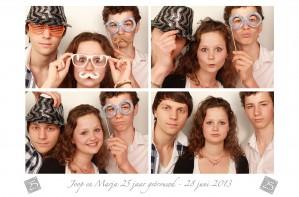 photobooth huren 25 jaar getrouwd in Almere