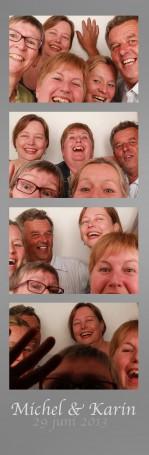 Fotobooth huren 25 jaar huwelijk in IJmuiden | Jublieum