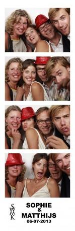 Foto booth huren bruiloft Huize Frankendael in Diemen