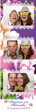 photo booth vertrekhal Rotterdam