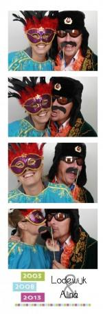 Bruiloft in Landsmeer met een fotohokje