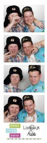 Bruiloft in Landsmeer met een fotobooth