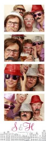 Photobooth huren bruiloft Vondelkerk Amsterdam