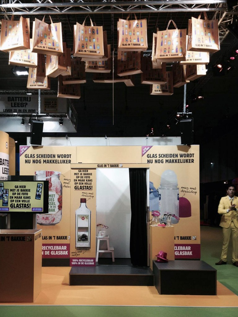 Photobooth op Huishoudbeurs in Rai Amsterdam