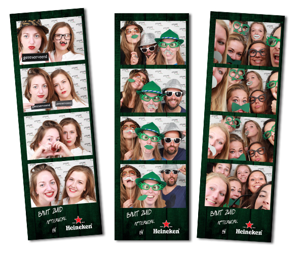 De Heineken Afterwork en Het Fotohokje
