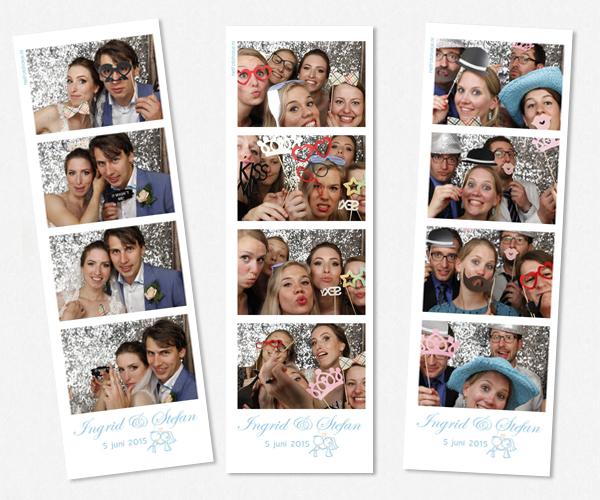 Bruiloft Photobooth van Stefan en Ingrid