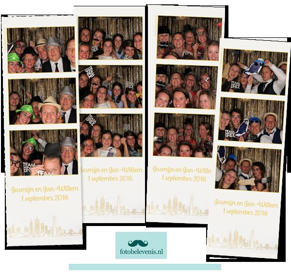 foto booth bruiloft rotterdam
