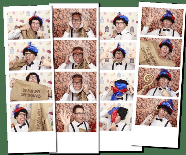 Fotobooth huren sinterklaasfeest