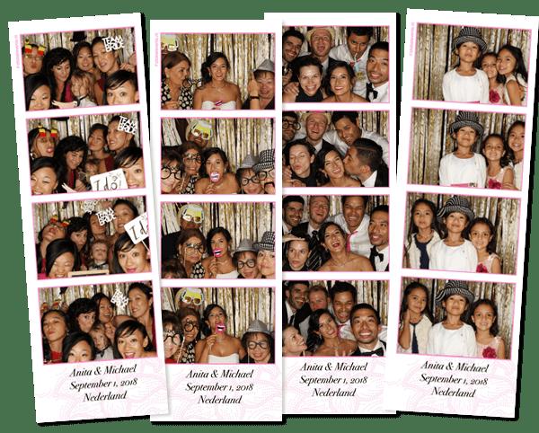 photo booth wedding duin en kruidberg santpoort