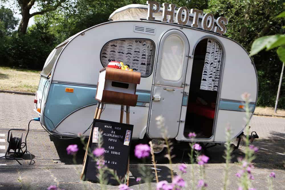 Photobooth caravan