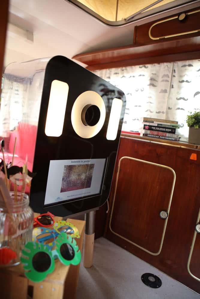Fotohokje foto caravan photobooth