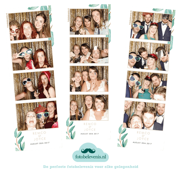 photobooth huren voor een bruiloft in Amterdam