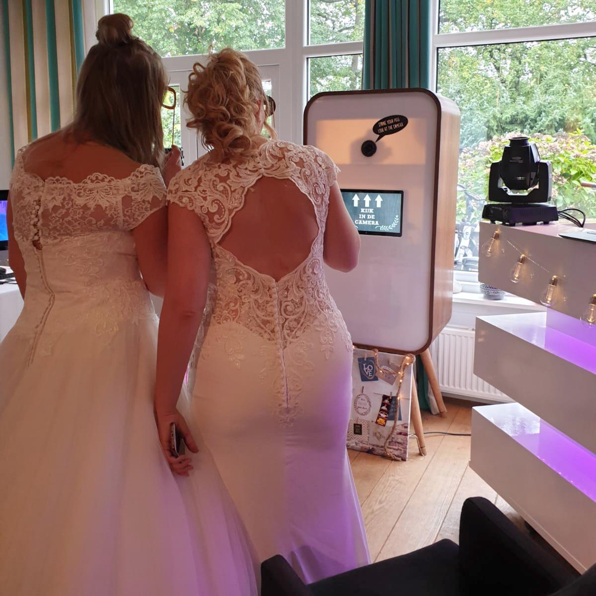 Flitskist op een bruiloft