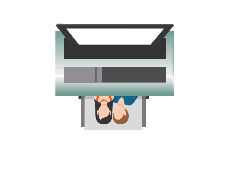 Hashtag sub dye printer photobooth