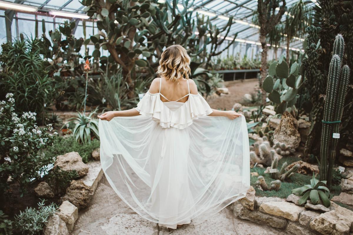 Bruid in Boho sferen