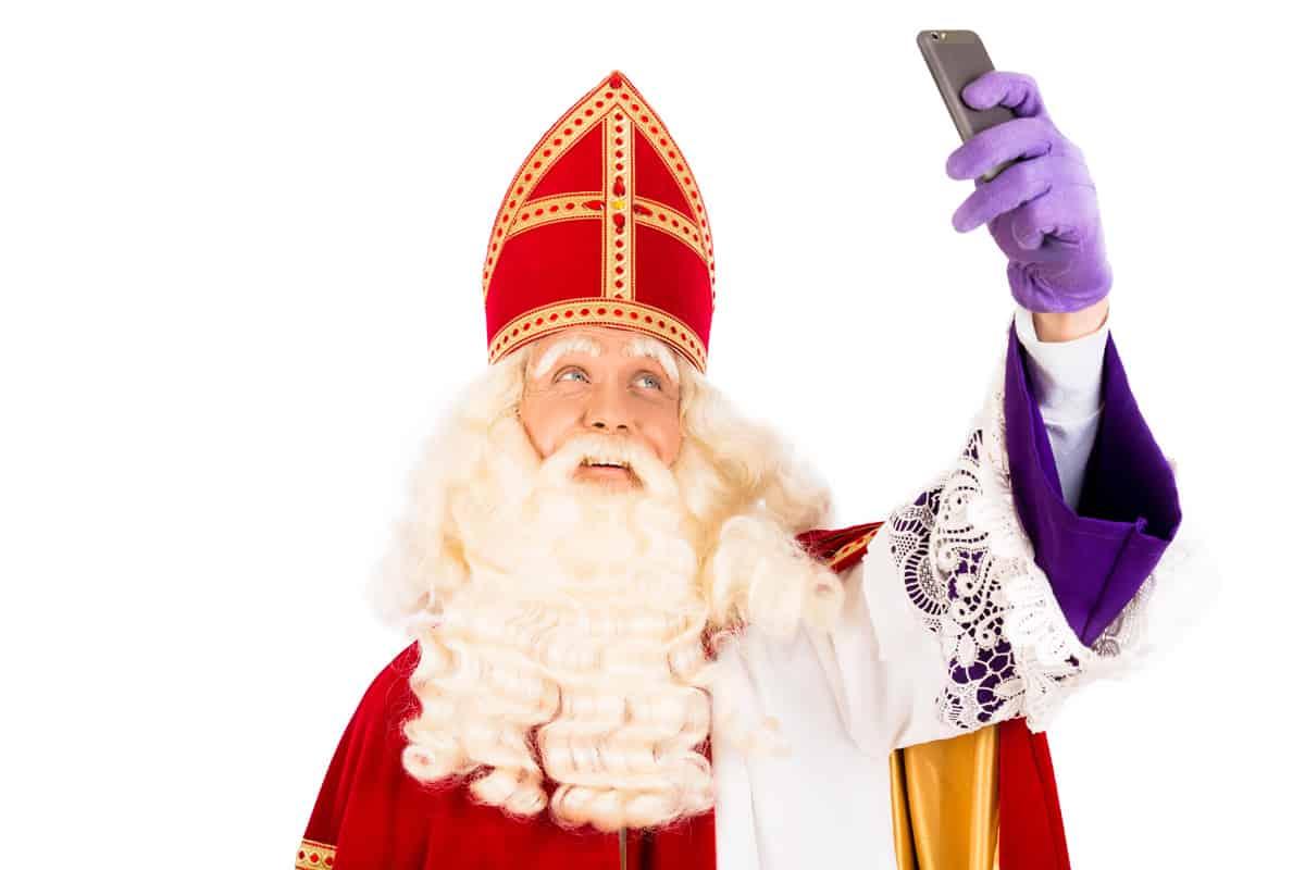 Sinterklaas selfie