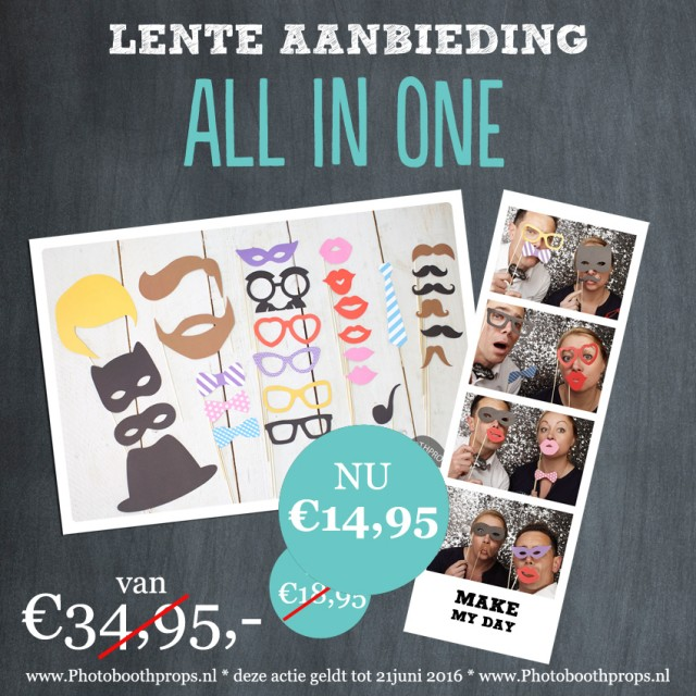 All in one photobooth props_Lente sale