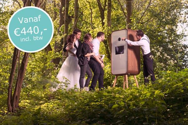 Flitskist sharingbox fotodoos voor op je bruiloft
