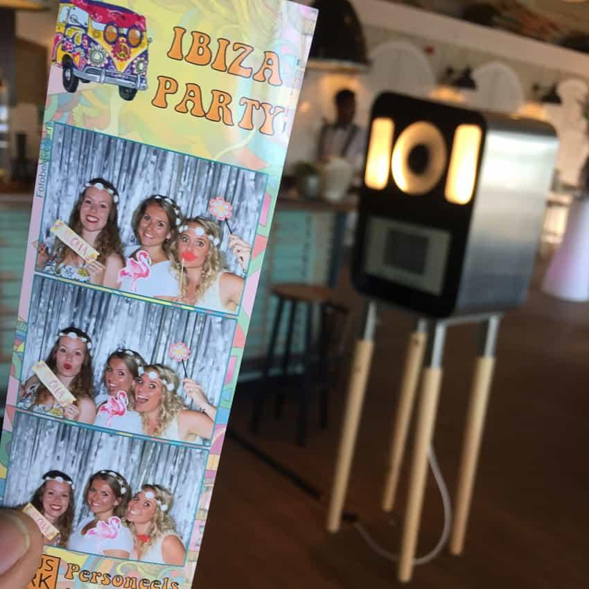 Fotokast voor op een evenement of bruiloft