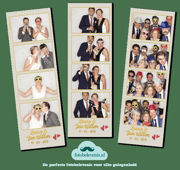 Fotobooth huren in Purmerend voor een bruiloft