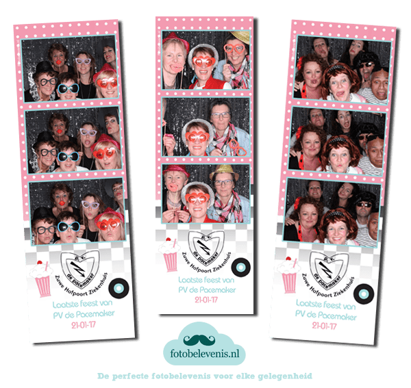 Fotobooth personeelsvereniging