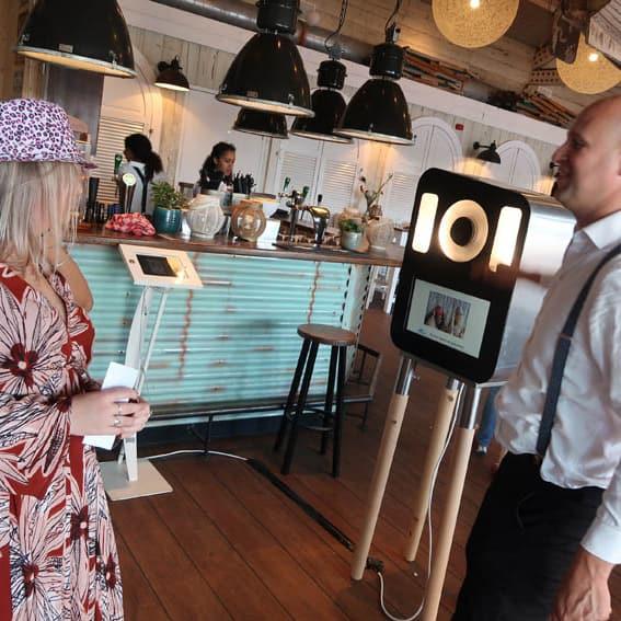 Fotokast fotokist fotodoos sharingbox voor bruiloft huren