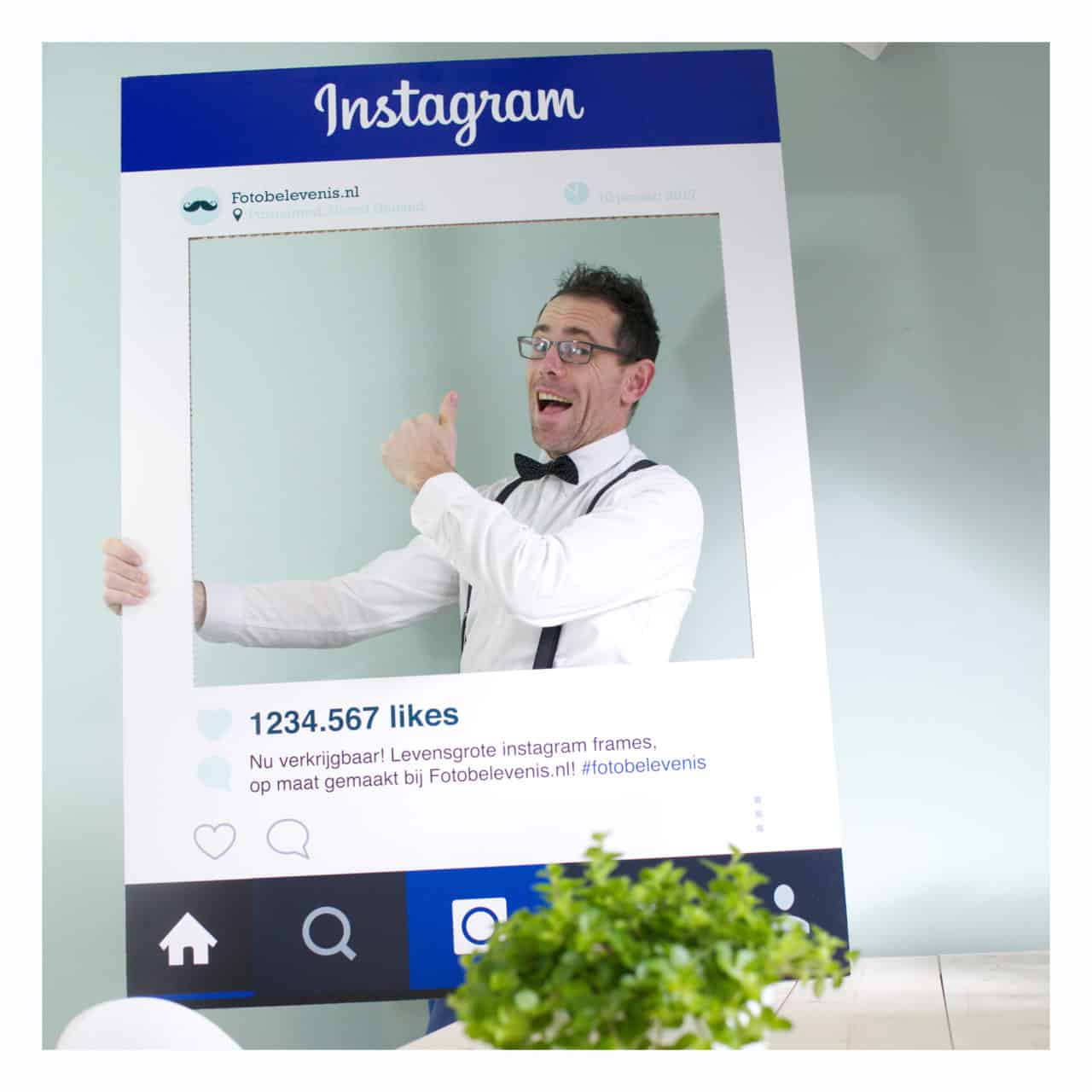 Instagram Frame Fotomarketing Trend