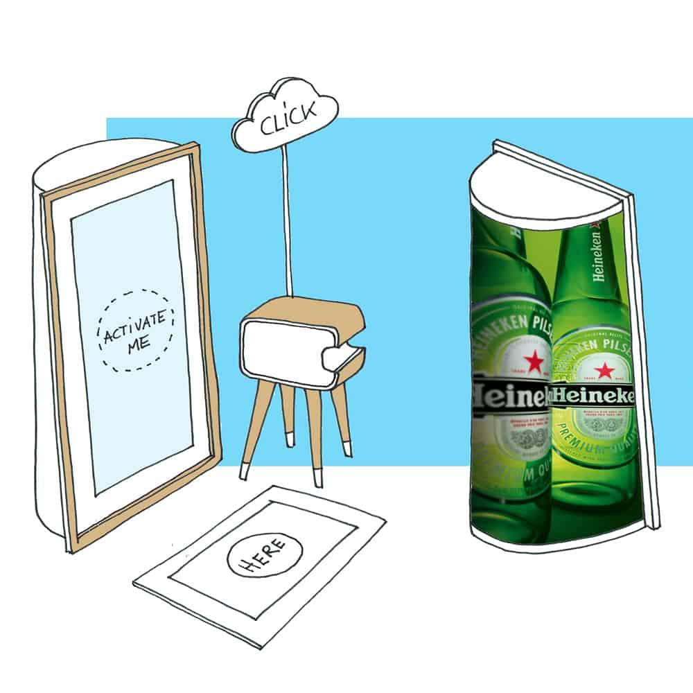 magische fotospiegel photobooth mirror