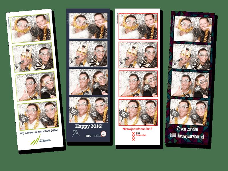 Nieuwjaarsborrel photobooth huren