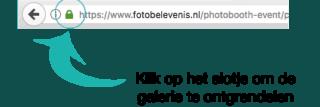 Online galerie knop