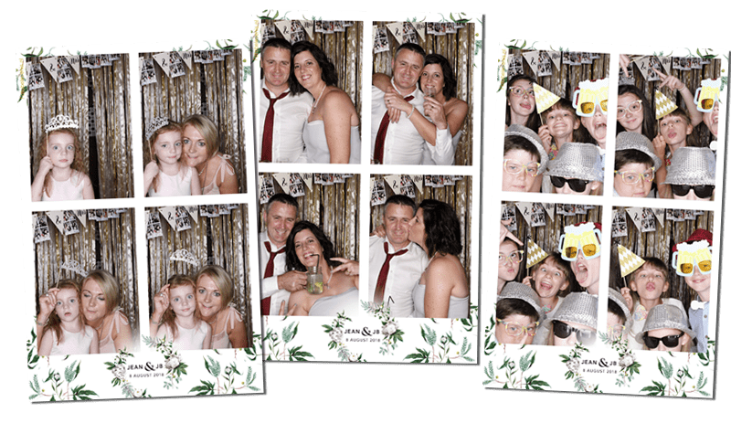 Photo booth bruiloft Santpoort Duin en Kruidberg