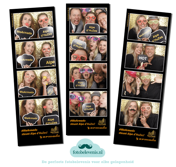 Photobooth Alp d'Huzes