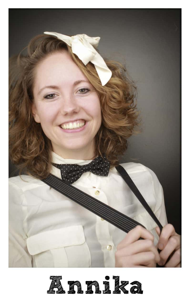 Photobooth medewerker Annika