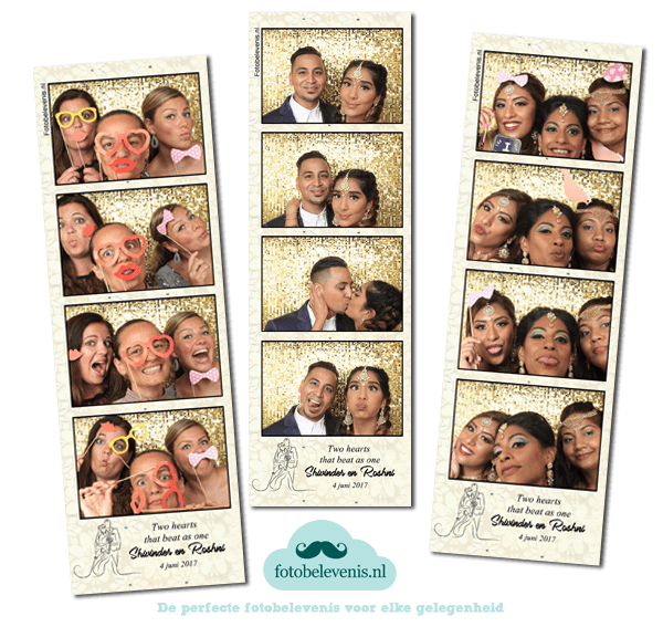 Fotobooth bruiloft Amsterdam | De Koning party & events